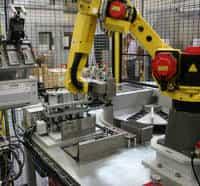 máquinas de automação industrial