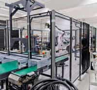 automação de processo industrial