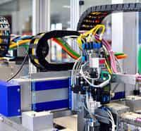 automação de máquinas operatrizes
