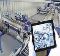 painel de automação industrial