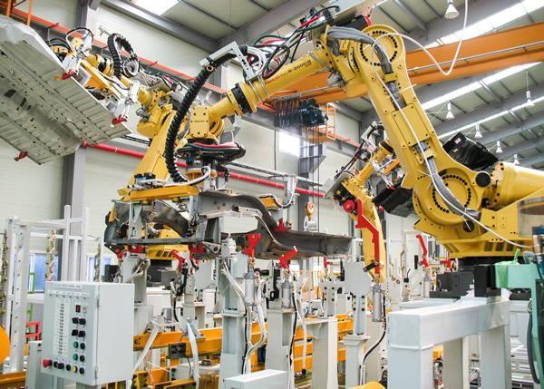 Automação industrial de esteiras