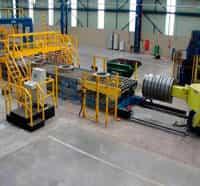 Automação linhas de corte para centro de serviço de aço