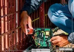 Automatizador de portão basculante