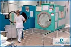 Lavanderia industrial automatizada