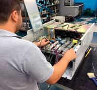 manutenção preventiva em servo motor
