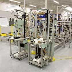 Serviço de automação industrial
